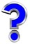 question-mark-sign-from-blue-with-chrome-frame-alphabet-set GkGr-Do